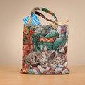 Cat Tapestry Tote Bag