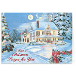 Pers I Said A Christmas Prayer Christmas Card Set of 20