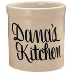 Personalized Stoneware Crock 2 Quart