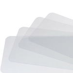 Clear Plastic Placemats, Set of 4