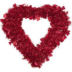 Valentine Glitter Wreath by Holiday Peak™