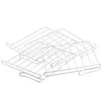 White Wire Closet Shelf Dividers