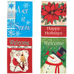 Holiday Flags, Set of 4