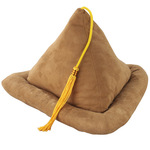 Tan Suede Book Pillow