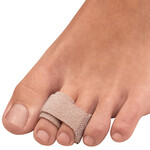 Silver Steps™ Toe Straightening Wraps, Set of 2