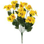 All-Weather Yellow Pansy Bush by OakRidge™
