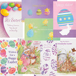 Easter Card Assortment, Set of 24