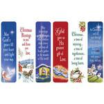 Religious Christmas Bookmarks, Set of 12