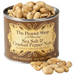 The Peanut Shop® Sea Salt & Cracked Pepper Peanuts, 10.5oz.