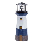 Blue Solar Lighthouse by Fox River Creations™