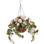 Full Assembled Geranium Hanging Basket by OakRidge™