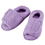 Quilted Chenille Adjustable Toe Slippers