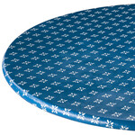 Heritage Vinyl Elasticized Table Cover By Home-Style Kitchen™