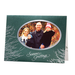 Silver Boughs Holiday Cards - Set of 18