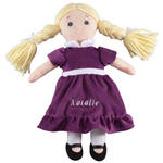 Personalized Little Sister Birthstone Doll