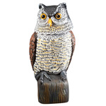 Scare Owl with Spring Neck by Scare-D-Pest™