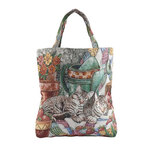 Cat Tapestry Tote Bag