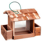 Woodlore® Cedar Bird Feeder with Planters