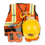 Melissa & Doug® Personalized Construction Worker Costume Set