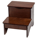 Wooden Step Stool with Storage by OakRidge™