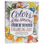 Colors of the Seasons Color by Number Coloring Book