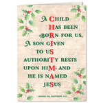 Personalized Good News Christmas Card Set of 20