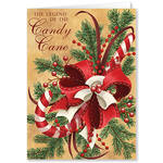 Personalized Legend of Candy Cane  Christmas Card Set of 20