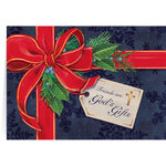 Personalized Friends are God's Gifts Christmas Card Set of 2