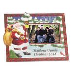 Personalized Santa's Surprise Christmas Frame Horizontal