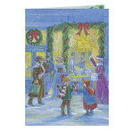 Peppermint Dreams Non - Personalized Christmas Card set of 2