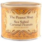 The Peanut Shop® Sea Salted Caramel Peanuts, 11oz.