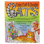 Color Crafts and Doodle Cats Activity Book