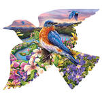 Bird Shaped Puzzle 588 Pieces