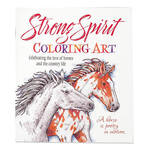 Strong Spirit Horses Coloring Book