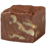 Sucrose-Free Chocolate Walnut Fudge
