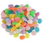 Multi-Colored Glow-in-the-Dark Stones Set of 100