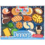 Melissa & Doug® Food Fun Combine & Dine Dinners - Blue