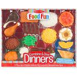 Melissa & Doug® Food Fun Combine & Dine Dinners - Red