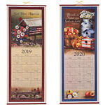 Patriotic Country Scroll Calendar 2019-2020