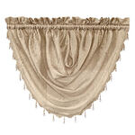 Whisper Crushed Satin Beaded Waterfall Valance