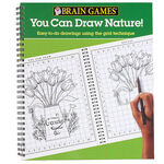 Brain Games® You Can Draw Nature!