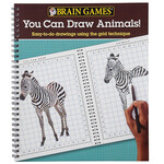 Brain Games® You Can Draw Animals!