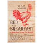 Farmhouse Bed & Breakfast Wall Art