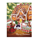 Personalized Sweet Greetings  Recipe Gift Christmas Card Set