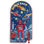 Space Race Pinball Game