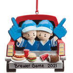 Personalized Tailgater Ornament