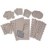 308-Piece Furniture Pad Variety Pack by LivingSURE™