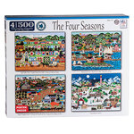 4-in-1 The Four Seasons Puzzles 500 Pieces Ea