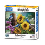 Song Birds Sunflower Garden Puzzle 550 Pc.