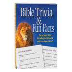 Bible Trivia Fun Facts Book